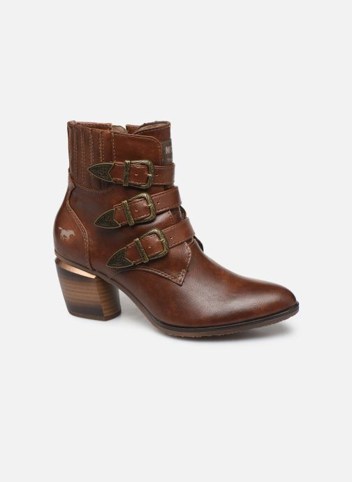 Bottines et boots Mustang shoes Jucha Marron vue détail/paire