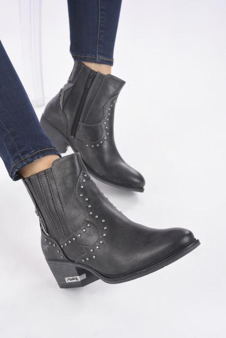 Boots en enkellaarsjes Mustang shoes Sapleb Grijs onder