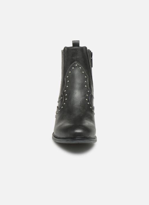 Bottines et boots Mustang shoes Sapleb Gris vue portées chaussures
