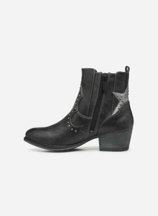 Bottines et boots Mustang shoes Sapleb Gris vue face