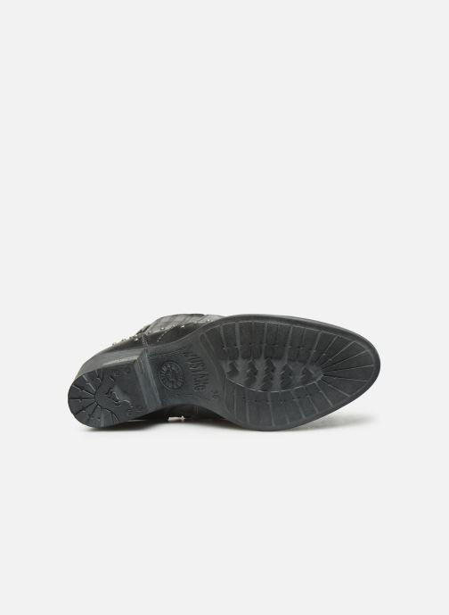 Stiefeletten & Boots Mustang shoes Sapleb grau ansicht von oben