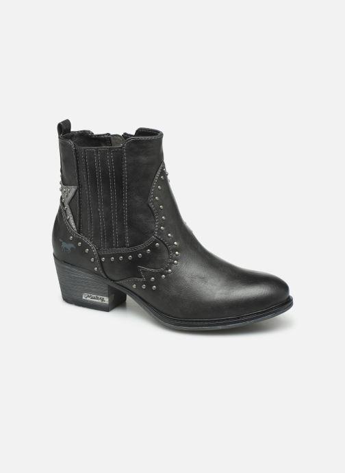 Bottines et boots Mustang shoes Sapleb Gris vue détail/paire