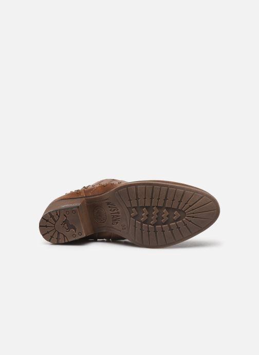 Boots en enkellaarsjes Mustang shoes Sapleb Bruin boven