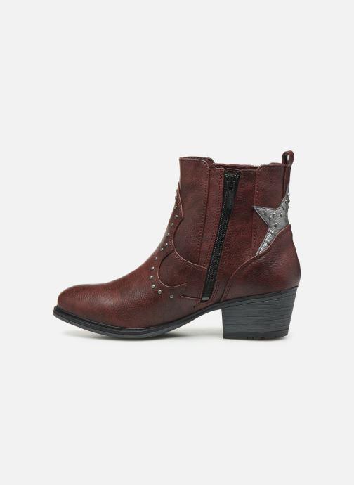 Bottines et boots Mustang shoes Sapleb Bordeaux vue face