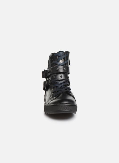 Baskets Mustang shoes Clélie Bleu vue portées chaussures