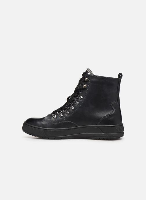 Sneakers Mustang shoes Lauloi Zwart voorkant
