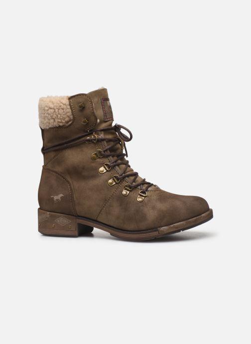 Bottines et boots Mustang shoes Elwenn Vert vue derrière