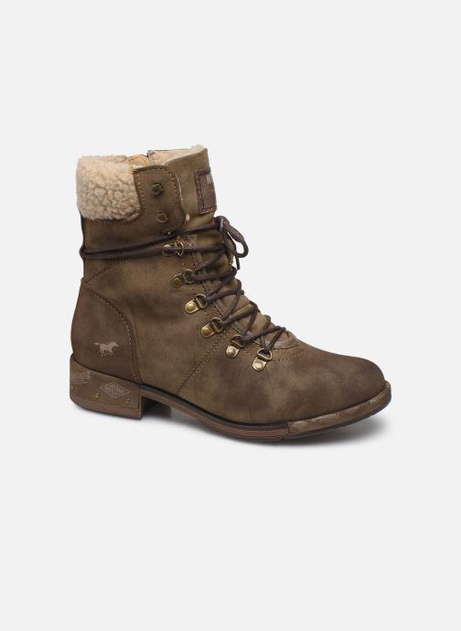 Bottines et boots Mustang shoes Elwenn Vert vue détail/paire