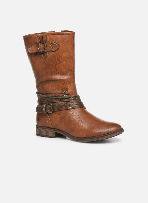 Bottes Mustang shoes Gillis Marron vue détail/paire