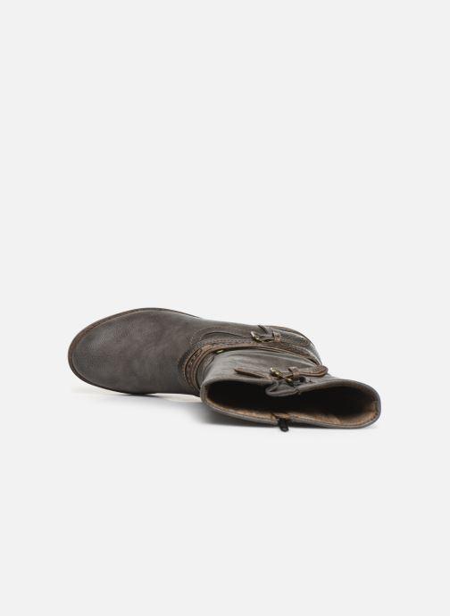 Stiefel Mustang shoes Gillis grau ansicht von links