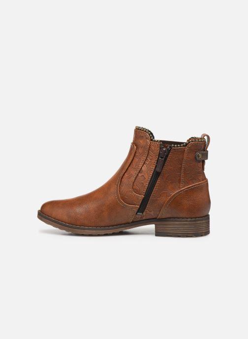 Bottines et boots Mustang shoes Guylain Marron vue face