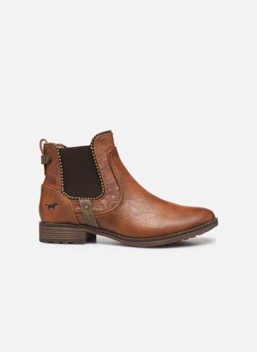 Bottines et boots Mustang shoes Guylain Marron vue derrière
