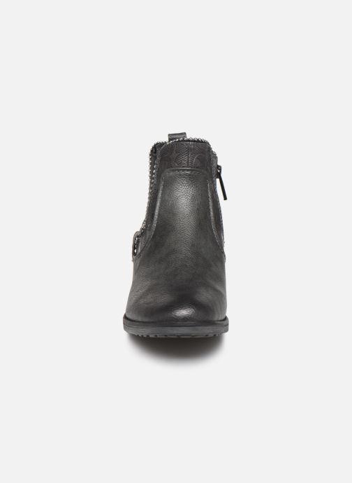 Bottines et boots Mustang shoes Guylain Gris vue portées chaussures
