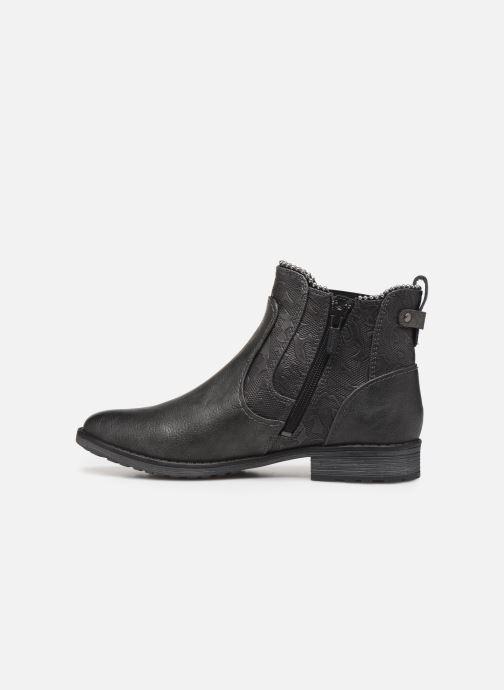 Bottines et boots Mustang shoes Guylain Gris vue face