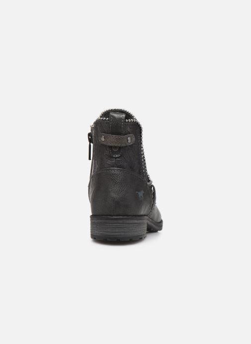 Bottines et boots Mustang shoes Guylain Gris vue droite