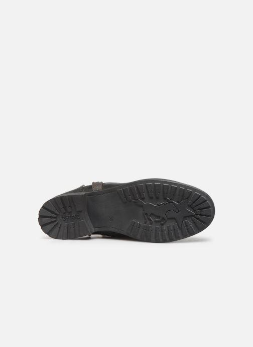 Bottines et boots Mustang shoes Guylain Gris vue haut