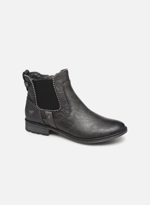 Bottines et boots Mustang shoes Guylain Gris vue détail/paire
