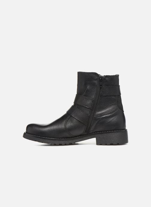 Bottines et boots Mustang shoes Kelyan Noir vue face