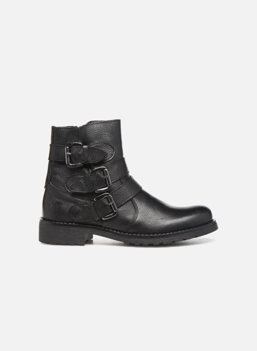 Bottines et boots Mustang shoes Kelyan Noir vue derrière