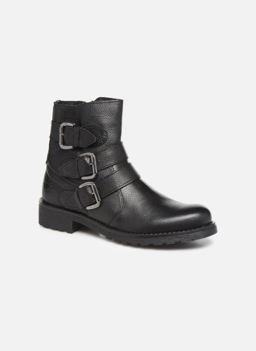 Bottines et boots Mustang shoes Kelyan Noir vue détail/paire