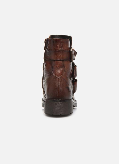 Bottines et boots Mustang shoes Kelyan Marron vue droite