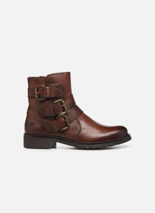 Boots en enkellaarsjes Mustang shoes Kelyan Bruin achterkant