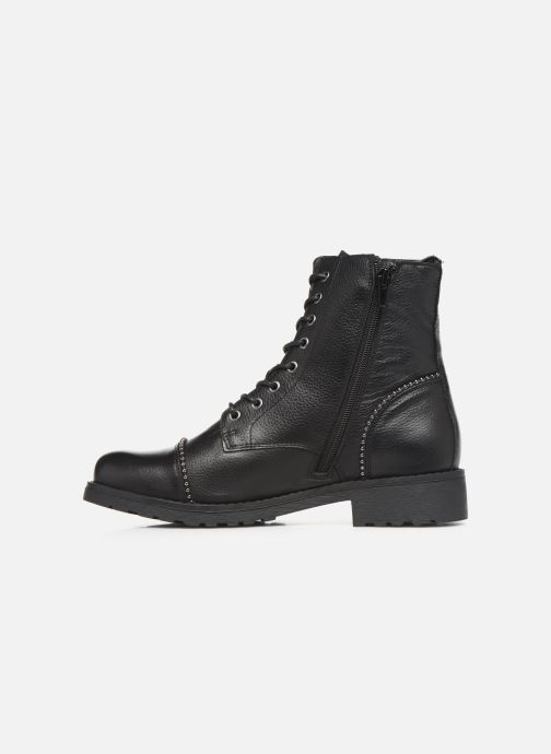 Ankle boots Mustang shoes Loéva Black front view