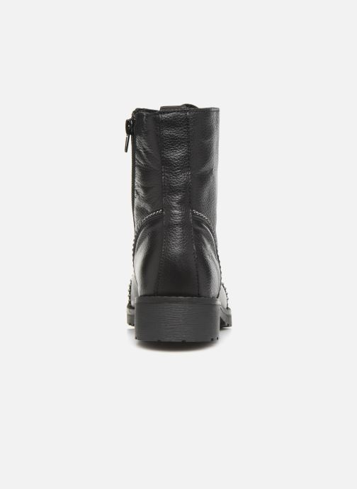 Ankle boots Mustang shoes Loéva Black view from the right