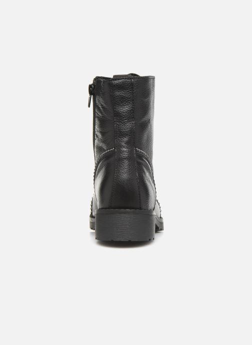 Bottines et boots Mustang shoes Loéva Noir vue droite