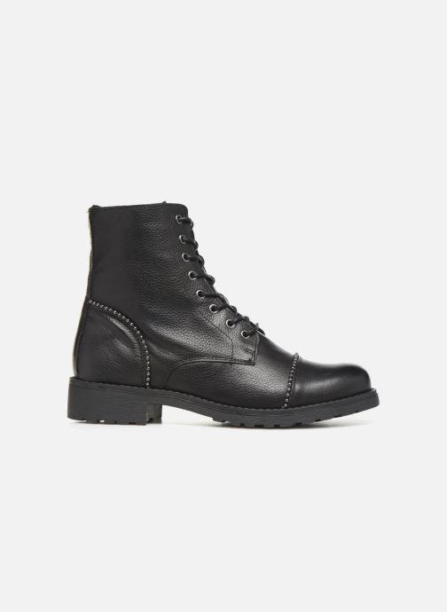 Boots en enkellaarsjes Mustang shoes Loéva Zwart achterkant