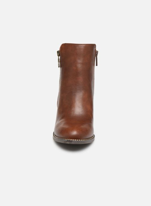 Boots en enkellaarsjes Mustang shoes Nathael Bruin model