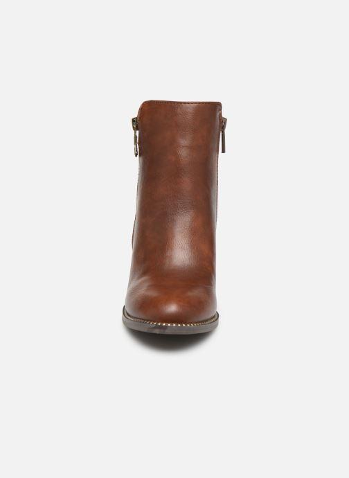 Bottines et boots Mustang shoes Nathael Marron vue portées chaussures