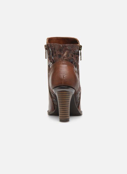 Bottines et boots Mustang shoes Nathael Marron vue droite
