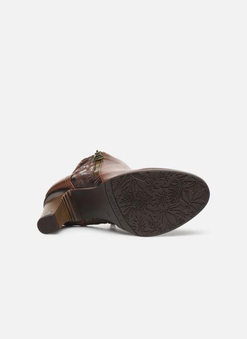 Bottines et boots Mustang shoes Nathael Marron vue haut