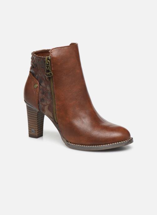 Bottines et boots Mustang shoes Nathael Marron vue détail/paire