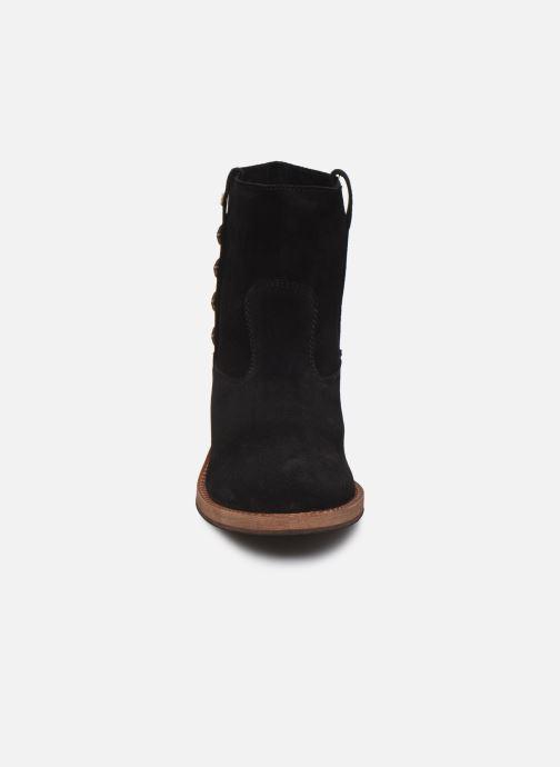 Bottines et boots Les Tropéziennes par M Belarbi Lisette Noir vue portées chaussures