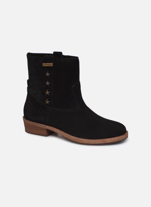 Bottines et boots Les Tropéziennes par M Belarbi Lisette Noir vue détail/paire