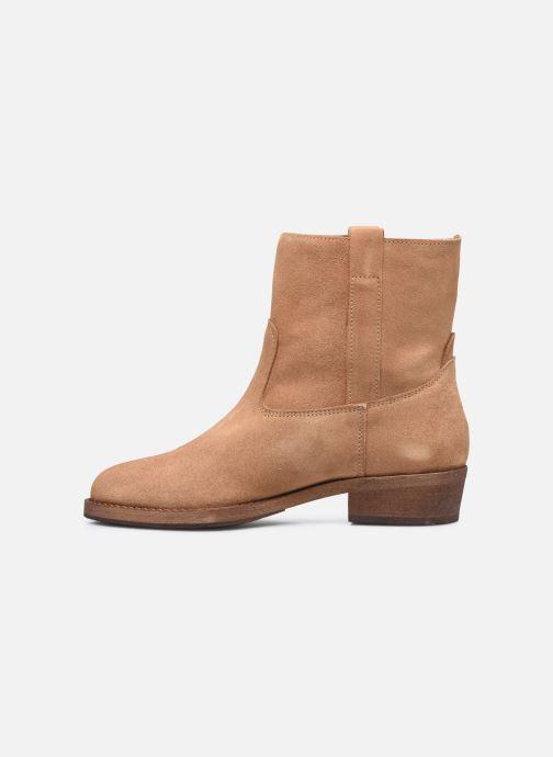 Bottines et boots Les Tropéziennes par M Belarbi Lisette Marron vue face