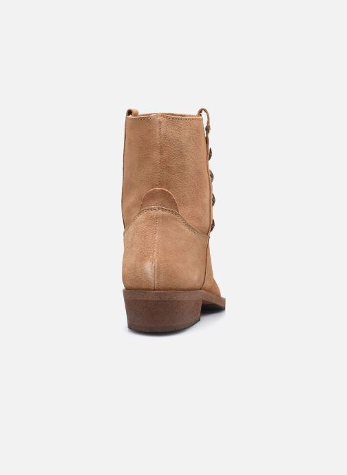 Bottines et boots Les Tropéziennes par M Belarbi Lisette Marron vue droite