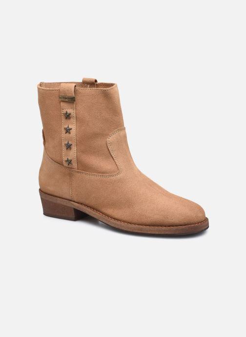 Bottines et boots Les Tropéziennes par M Belarbi Lisette Marron vue détail/paire