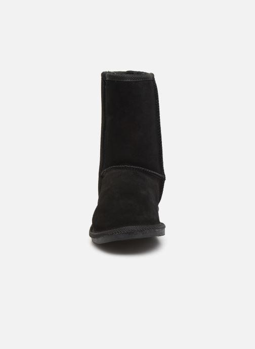 Bottines et boots Les Tropéziennes par M Belarbi Mountain Noir vue portées chaussures