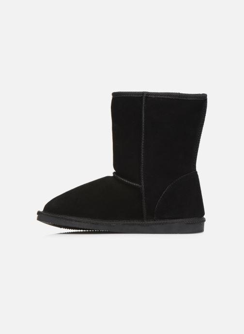Bottines et boots Les Tropéziennes par M Belarbi Mountain Noir vue face