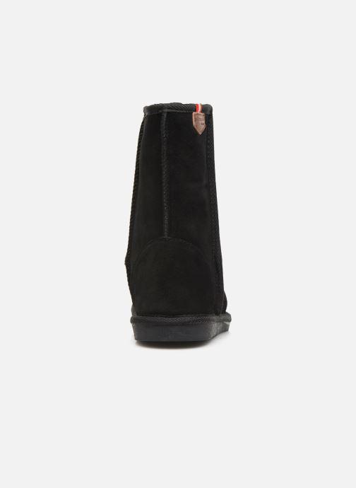 Bottines et boots Les Tropéziennes par M Belarbi Mountain Noir vue droite