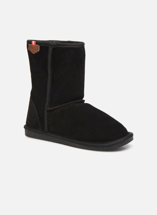 Bottines et boots Les Tropéziennes par M Belarbi Mountain Noir vue détail/paire