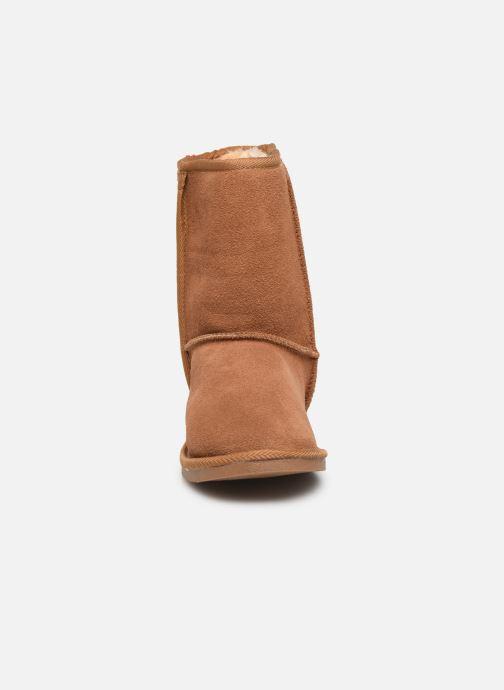 Bottines et boots Les Tropéziennes par M Belarbi Mountain Marron vue portées chaussures
