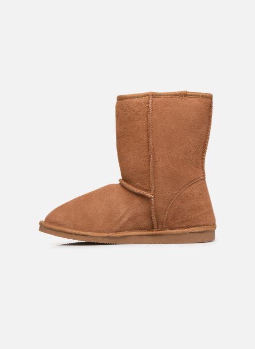 Bottines et boots Les Tropéziennes par M Belarbi Mountain Marron vue face