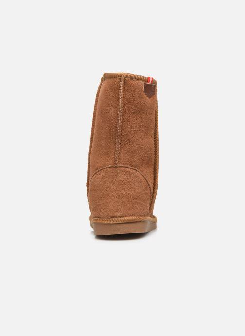 Bottines et boots Les Tropéziennes par M Belarbi Mountain Marron vue droite