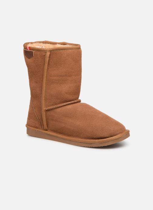 Bottines et boots Les Tropéziennes par M Belarbi Mountain Marron vue détail/paire