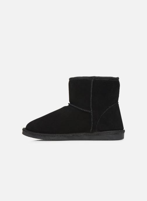 Bottines et boots Les Tropéziennes par M Belarbi Winter Noir vue face