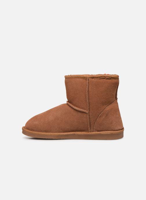Bottines et boots Les Tropéziennes par M Belarbi Winter Marron vue face